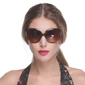 Vintage Style Brown Sunglasses